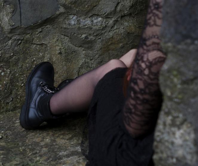 Gothic Summer Look sincerelyserajy fashion blog post